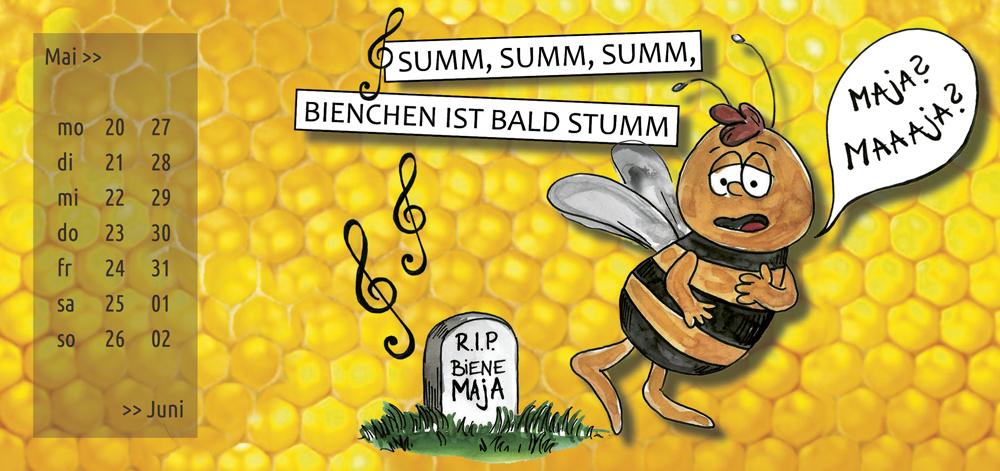 summ, summ, summ: Bienchen ist bald stumm